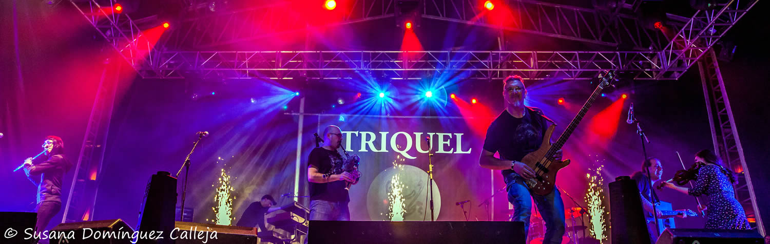 TRIQUEL rock celta.