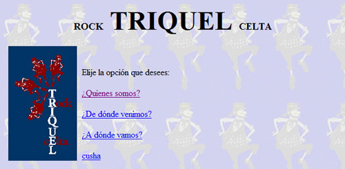 Triquel rock celta 1997